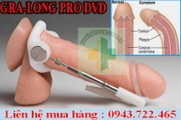 Máy tập làm thẳng và dài cậu nhỏ GRA-LONG Pro DVD chuẩn USA